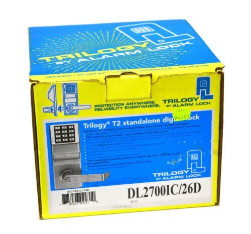BRAND NEW Trilogy T2 Standalone Digital Keypad Electronic Lock DL2700IC/26D