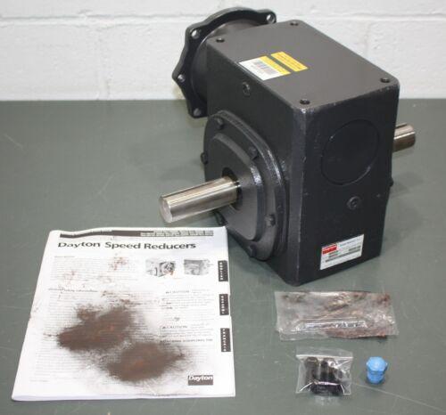 "Dayton Speed Reducer 4RP69, 30:1, C-Face, 56C, 1750 RPM, 1.5 HP, 5/8"" Bore"