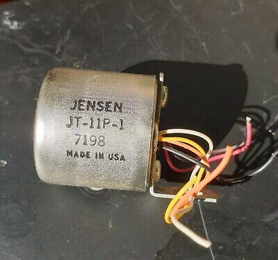 Jensen JT-11P -1 Line  Input Transformer