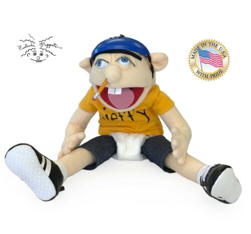 Jeffy  Puppet made in USA ready to ship Evelinkapuppets