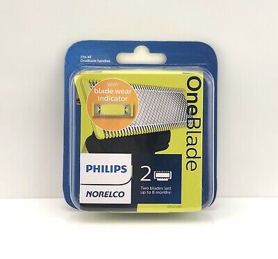 Philips Norelco OneBlade 2 Pack Replacement Blades QP220/80 - BRAND NEW