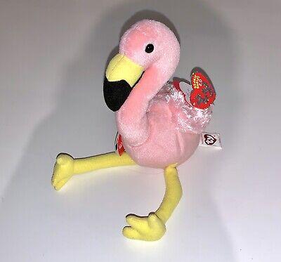 TY Beanie Baby 2.0 - SPLITS the Flamingo NWT