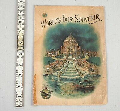 1904 St.Louis World's Fair Souvenir Program Louisiana Purchase Exposition