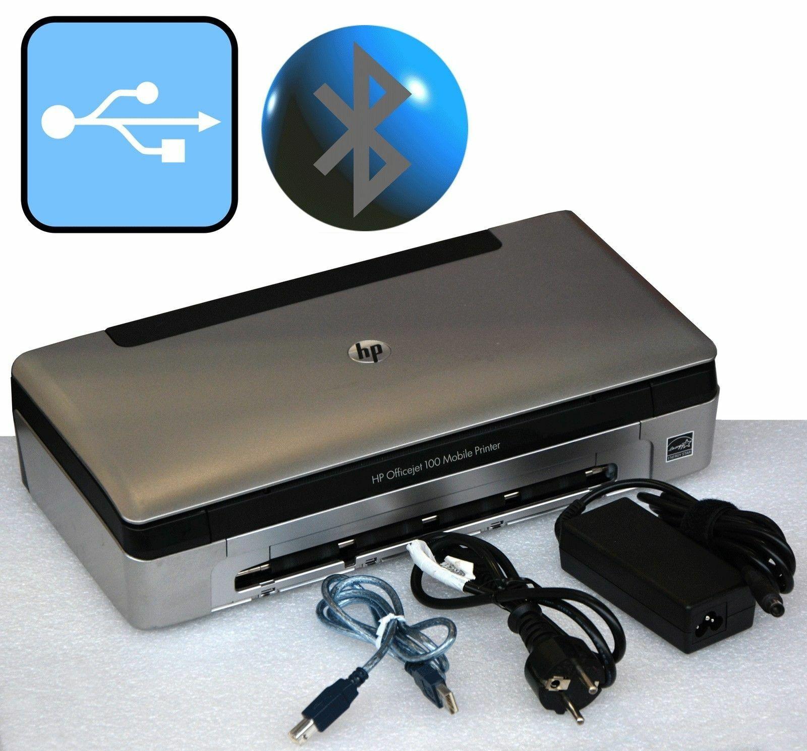 Portable petit imprimante hp officejet 100 usb m.bluetooth pour windows xp 7 8