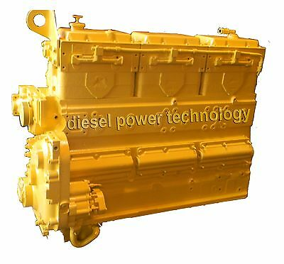 Komatsu N14c Remanufactured Diesel Engine Extended Long Block
