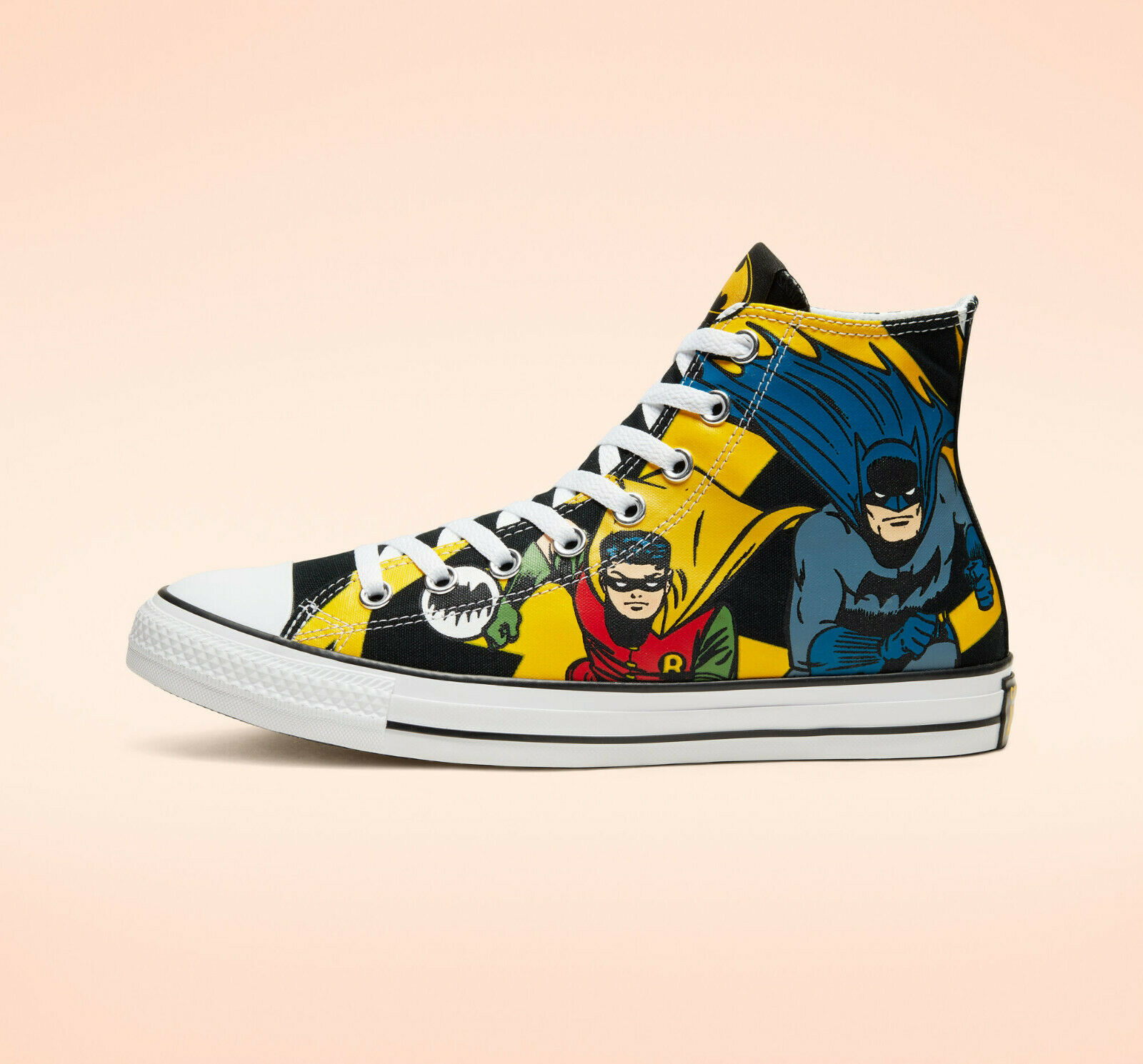 Converse x BATMAN Mens Shoes  80th Anniversary DC CHUCKS CTA