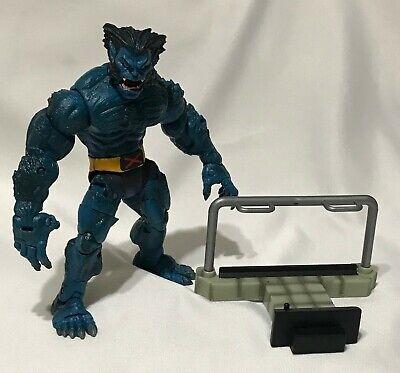 "Toybiz 2003 Marvel Legends Series IV BEAST Blue X-Men 6"" Action Figure Complete"