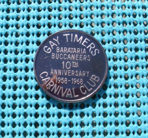 1968 GAY TIMERS Carnival Club  .999 FINE SILVER Mardi Gras doubloon
