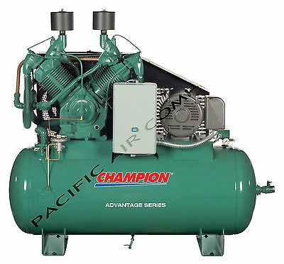 25 Hp Air Compressor 100 Cfm 120 Gallon Tank Hra25-12 Full Package Acac Atd