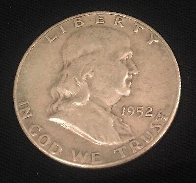 1952-S 50C Franklin Half Dollar