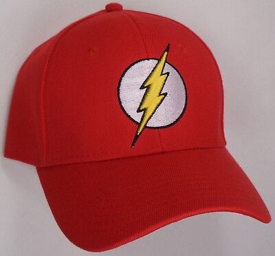 Hat Cap DC Comics Flash Logo Red Officially Licensed CC - Flash Hat