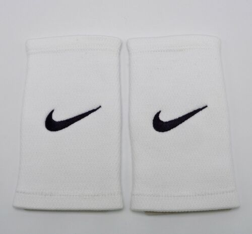 Nike Stealth Wristbands Thin Court Logo White/Black