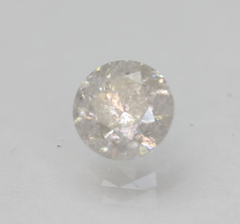 Certified 1.06 Carat F Color Round Brilliant Natural Loose Diamond 6.27mm 3VG