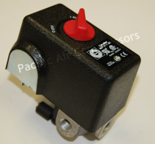 CONDOR MDR 11 / 11 EA PRESSURE SWITCH 26 AMPS 120 / 240 VOLTS 120-155 PSI