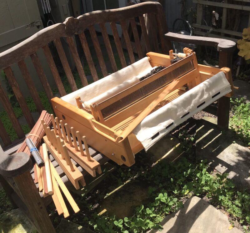Vintage PIONEER Wooden 4-Harness 24+Inch Wooden Weaving Loom by Northwest Looms