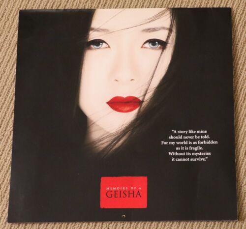 MEMOIRS OF A GEISHA rare ZIYI ZHANG Ken Watanabe 2006 CALENDAR Michelle Yeoh