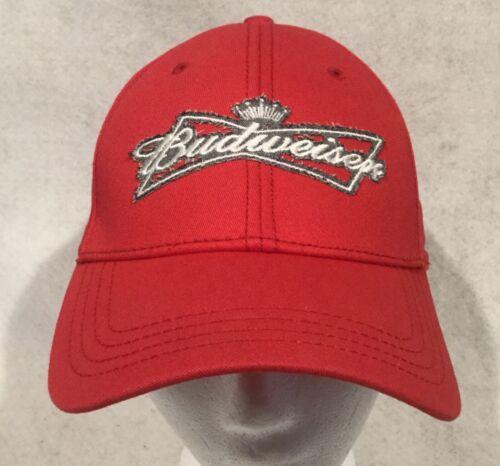 Budweiser adjustable Red Baseball Hat