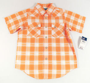 POLO RALPH LAUREN BOY'S PLAID WESTERN COWBOY SHIRT 4 5 6 S M L XL NEW NWT