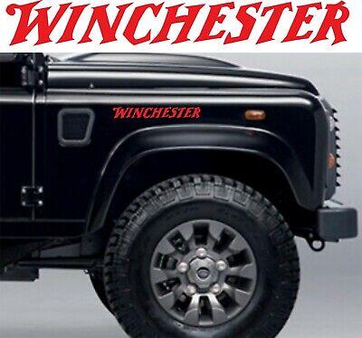 WINCHESTER LOGO  Sticker Decal  Shotgun/Firearm/Hunting/Shooting
