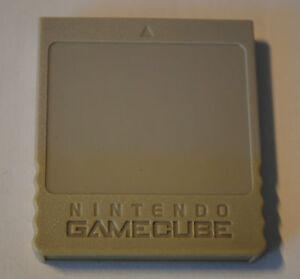 carte memoire game cube officielle