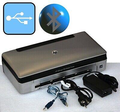Petit mobile printer hp officejet 100 usb bluetooth pour windows xp 7 8 10 mm
