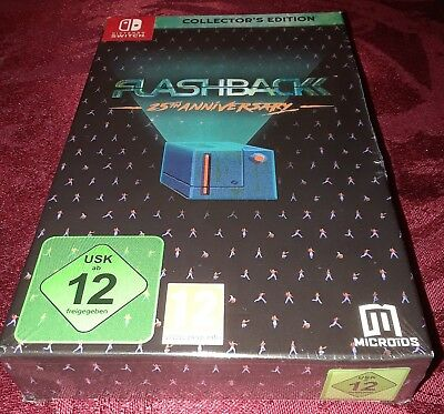 Flashback 25Th Anniversary Collectors Edition For Nintendo Switch New