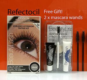 Refectocil-Eyelash-Eyebrow-tint-Kit-Black-mascara-wands