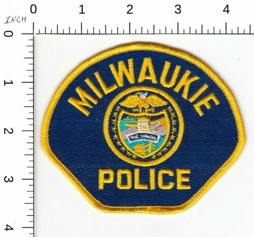 MILWAUKIE POLICE SHOULDER PATCH OREGON OR