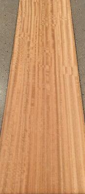 Figured Eucalyptus Wood Veneer 4 Sheets 39 X 11 11 Sq Ft