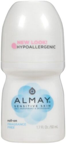 Almay Anti-Perspirant & Deodorant, Sensitive Skin, Roll-On