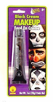 Halloween Black Cream Makeup Costume Theater Vampire Clown Cream Face Paint - Halloween Face Paints Clown