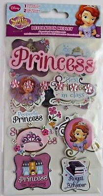 Sophia The First Decoration Medley Magical Triple Pack Stickers - Sophia The First Decorations