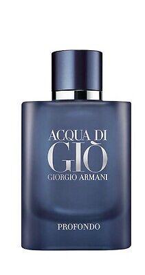 Giorgio Armani Acqua Di Gio PROFONDO Eau De Parfum 2.5 Fl.Oz./ 75 ml