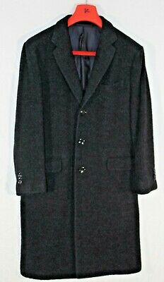 Men's Euro 52 MP Massimo Piombo 95% Baby Alpaca Wool full-length coat - WARM!!