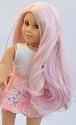 """11"""" Custom Doll Wig for 18"""" American Girl Dolls Gotz My Life OG Journey Girls"""