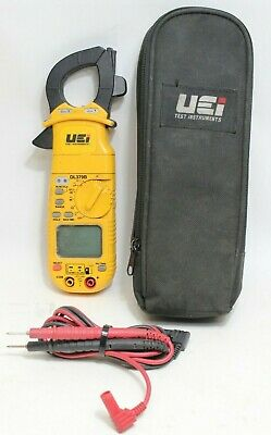 Uei Dl379b Digital Hvac Clamp Amp Meter Multimeter