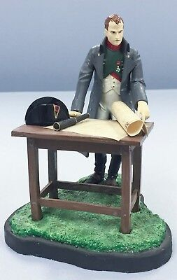 Hand Painted Miniature Toy Soldier Napoleon on Battlefield France Waterloo
