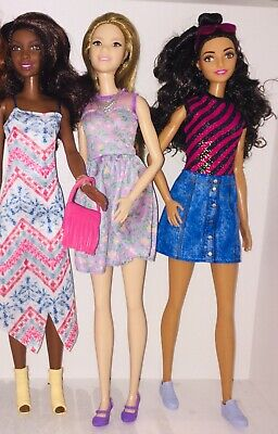 barbie fashionistas bundle X3