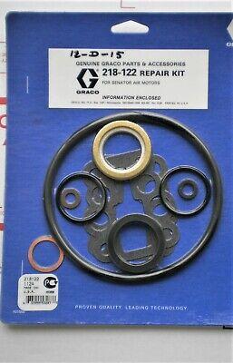 Genuine Graco Parts 218-122 Repair Kit For Senator Air Motors New Sealed