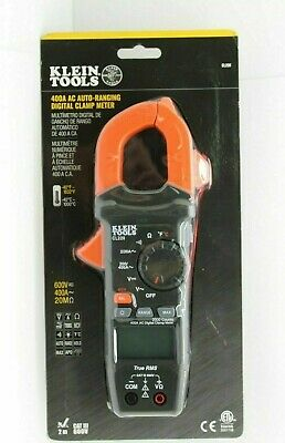 Klein Tools 400a Ac Auto Ranging Digital Clamp Meter Cl220 Sealed