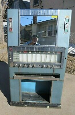 Vintage National Candy Machine w Gum / Lifesaver Dispenser - Vending Coin-op