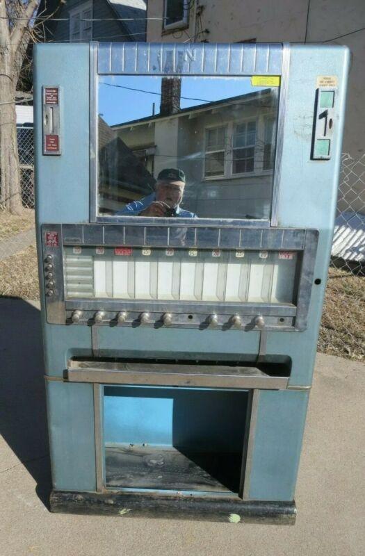 Vintage National Candy Machine w Gum / Lifesaver Dispenser - Vending Coin-op
