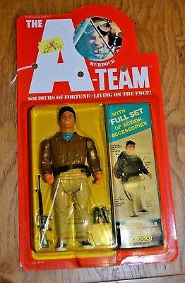 Vintage Galoob A-Team Figure Murdock; Unopened; 1983