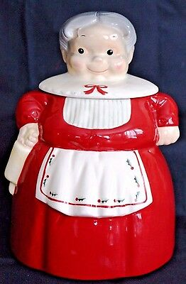 American Retro Clay 101 GRANDMA Cookie Jar, Container or Canister Ceramic