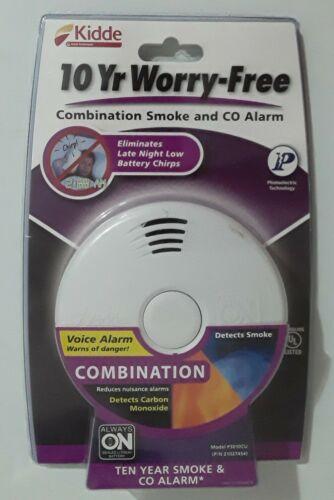 Kidde P3010CU Combination Smoke and Carbon Monoxide Alarm W