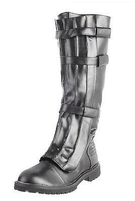 Walker Superhero Boots Mens Knee Boots Cosplay Star Wars Boots 130