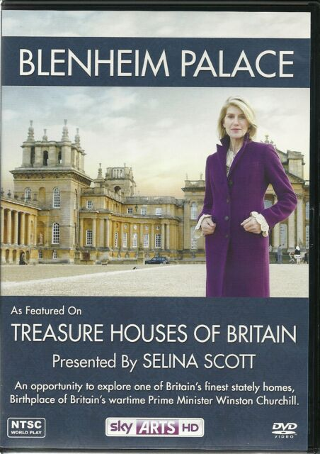 BLENHEIM PALACE DVD TREASURE HOUSES OF BRITAIN PRESENTED BY SELINA SCOTT
