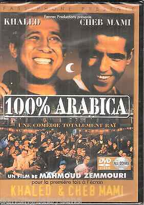 Movie /Film of Cheb Khaled, Cheb Mami 100% Arabica ~Video Alger Maroc Arabic DVD
