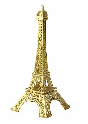 Metal Eiffel Tower USA Seller centerpiece or cake topper  gold Table Decor 7
