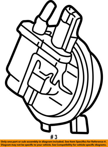 Chrysler Oem Emission Leak Detect Pump 68263921aa